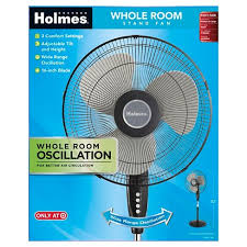 holmes metal stand fan holmes 16 stand fan oscillating target