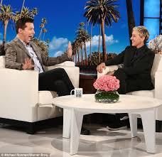 Ellen Bathroom Scares Sean Hayes Admits Health Scare Made Him Miss Ellen Show Daily