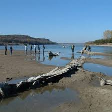North Dakota beaches images Swimming beaches on the missouri river usa today jpg