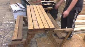 Folding Picnic Table Plans Bench Bench Picnic Table Combo Folding Picnic Table Made Out Of