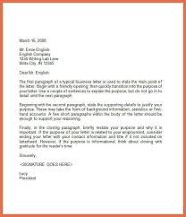 business letter examples bio example
