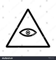 Illuminati Flag Illuminati Icon Vector Illustration Stock Vector 363695993