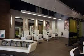interior perky salon interior design in wonderful white and grey