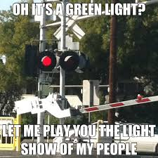 Light Show Meme - oh it s a green light let me play you the light show of my people