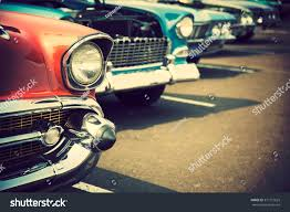 Classic by Classic Cars Row Stock Photo 377172625 Shutterstock