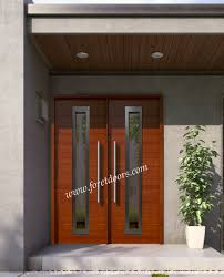 gallery of modern wood front entry doors in stock at a discount