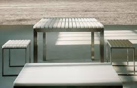 modern interior design modern outdoor dining table gandia blasco
