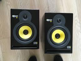 krk home theater krk rokit 6 g3 active monitor speakers pair 1st generation in