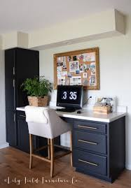 Painted Black Kitchen Cabinets Black Kitchen Cabinets Lily Field Co