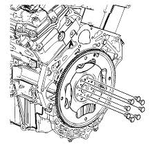 repair instructions off vehicle engine flywheel removal 2010
