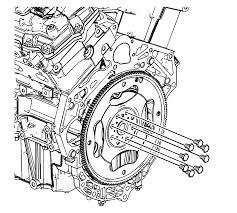 repair instructions off vehicle engine flywheel removal 2011