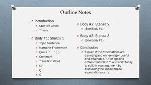transitions from quote to explanation to be of use essay outline notes u0026 timeline outline notes o