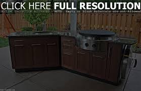 Outdoor Kitchen With Sink Outdoor Bar Sink Cabinet Best Home Furniture Decoration