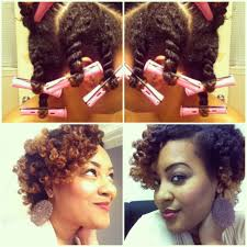 perm rods on medium natural hair natural hair how to twist out with perm rods millennial life