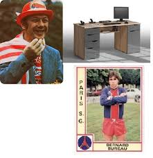 bernard bureau lille en fâcheuse posture met à terre l invincible psg en 1986