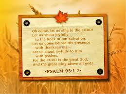 psalm of thanksgiving thanksgiving joy powerpoint fall thanksgiving powerpoints
