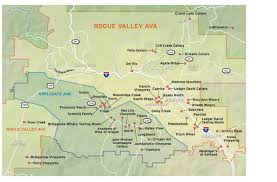 2012 wine guide rogue valley applegate map oregonlive