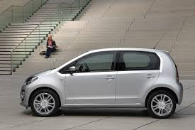 volkswagen up 2012 2012 silver volkswagen up four door side eurocar news