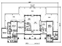 ranch style floor plan lodge style house plans wickiup 30 116