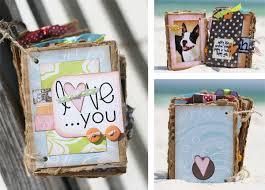 Scrapbook Photo Album Mini Album Project Using Your Scraps Kevin U0026 Amanda Food