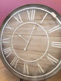 large wooden wall clock interiors 4 you wakefield