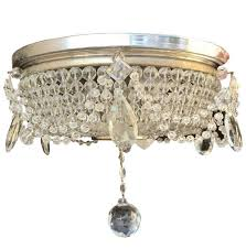 unique crystal flush mount ceiling light 23 for small ceiling fans