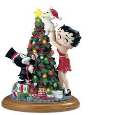 betty boop tree sculpture the danbury mint intended