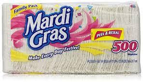 mardi gras napkins mardi gras prints napkins 500 count food service industry supply