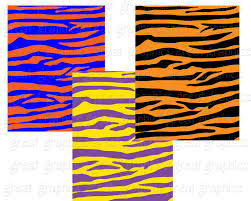 tiger stripe print digital paper paper digital tiger