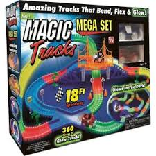 light up car track as seen on tv magic tracks glow in the dark led light up race car bend flex as