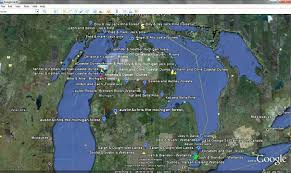 Wisconsin Map Google by Putting It All Together Using Moodle Google Earth Maps Web 2 0