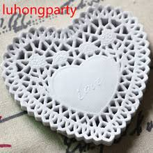 heart shaped doilies buy heart shaped paper doilies and get free shipping on aliexpress