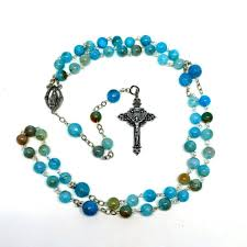 diy rosary how to make a rosary 7 steps with pictures