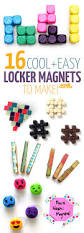 diy magnets for lockers and beyond moms and crafters