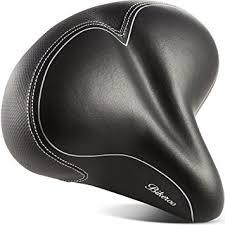 Most Comfortable Motorcycle Seat Amazon Com Oversized Comfort Bike Seat Bikeroo Most