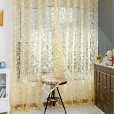 multi color sheer tulle voile window curtain door panel drape