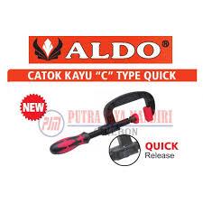 Catok Kayu sellery klem c set 3 pcs penjepit kayu c cl 1 2 3 daftar harga