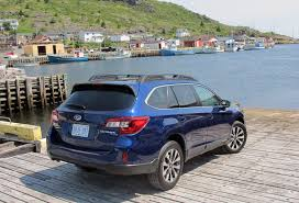 tribeca subaru 2015 the 2015 subaru outback lives up to its name wheels ca