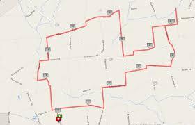 Ohio Amish Country Map by Half Marathon