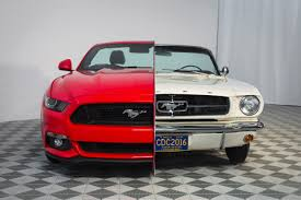 mustang design design 50 years of ford mustang history bestride