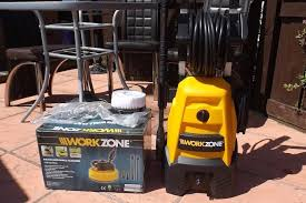 Patio Tools Workzone Pressure Washer U0026 Patio Tools Used Twice In