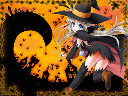 halloween anime backgrounds cute anime 4217033 1600x1200 all for desktop