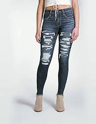 Black Skinny Jeans With Holes Jeans For Women American Eagle Outfitters