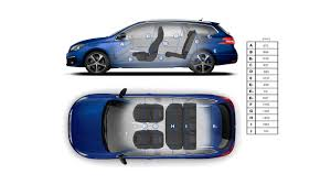 peugeot 5008 interior dimensions peugeot 308 touring new car showroom hatchback technical