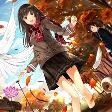 kazabana fuuka tap to see more thanksgiving anime wallpapers