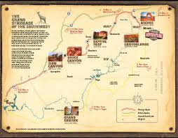 bryce map pdf moab utah the mighty five parks