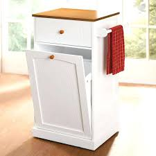 kitchen island with garbage bin kitchen island trash can holder snaphaven