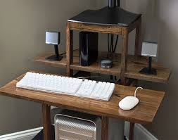 free corner computer desk woodworking plans wooden plans bunnings