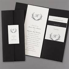 tri fold invitations trifold invitation wedding invitations carlson craft wedding