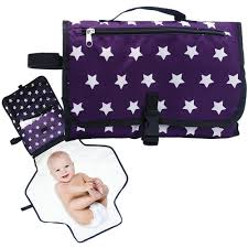 portable diaper changing table makady baby diaper changing pad waterproof portable changing table